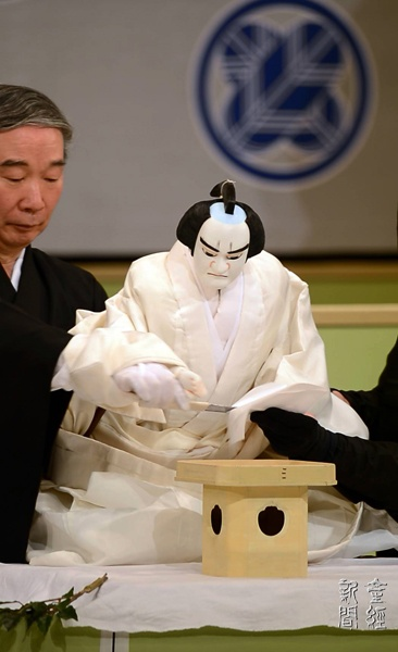 Traditional Japanese Puppet Theatre... Looks like the American president and Congress...so true.