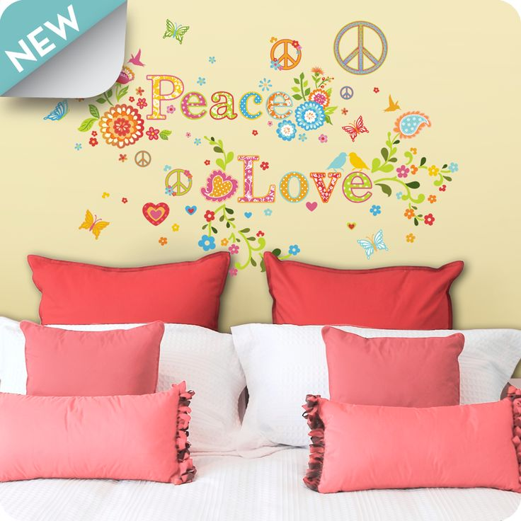130 best Love Wall Decals images on Pinterest | Wall clings, Wall ...