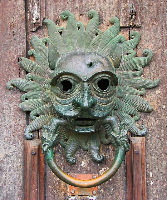 Durham Cathedral door knocker