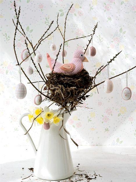 Påskepynt: Sy en rigtig rugemor til påske - Hendes Verden
