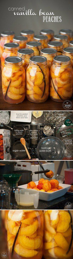 how to make peach preserves from canned peaches