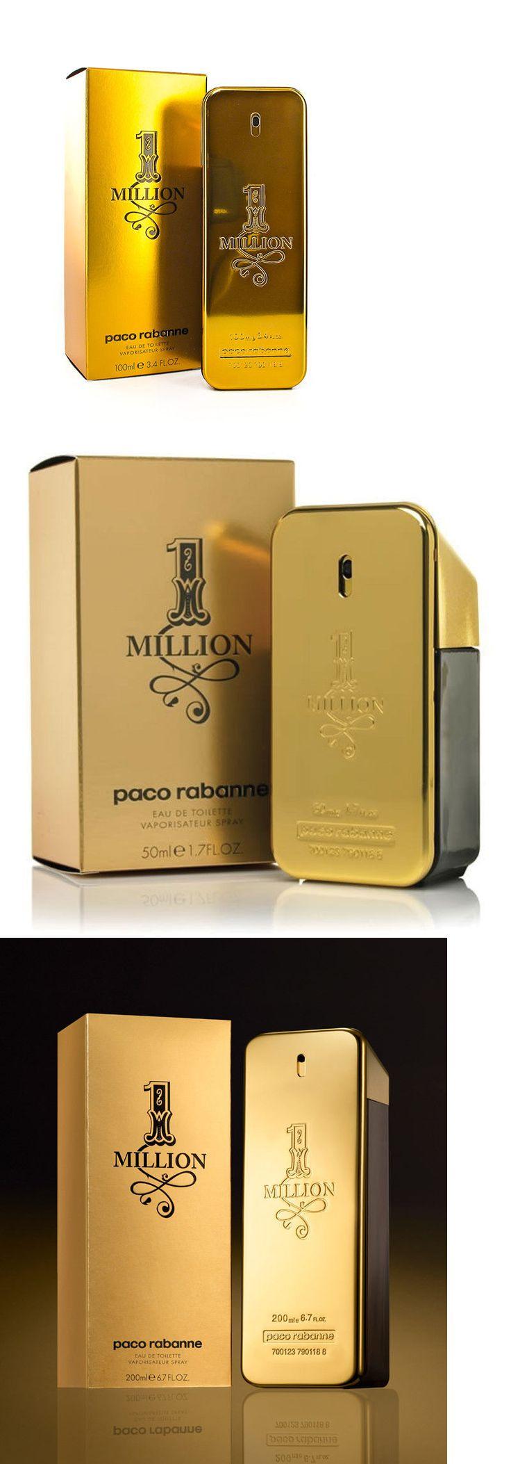 Men Fragrance: 1 One Million * Paco Rabanne * Cologne For Men * 1.7 3.4 6.7 Oz * Edt * Nib -> BUY IT NOW ONLY: $55.45 on eBay!