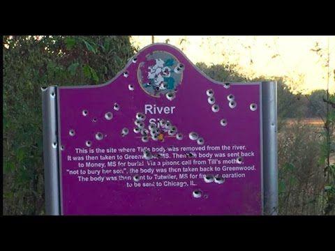 Racists have been shooting at Emmett Till's memorial