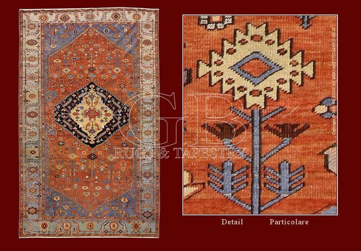 Bakshaiesh antique Rug, or Bakshayesh, of Iranian Azerbaijan, near Tabriz_140931572421