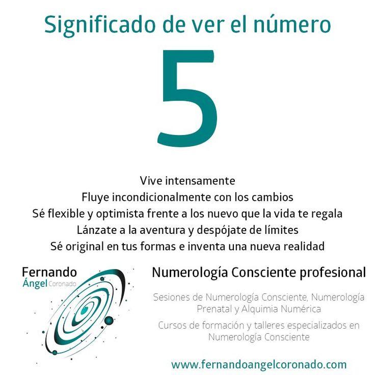 significado de ver el numero 5