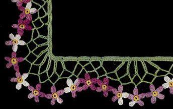 African Violet Edging Pattern