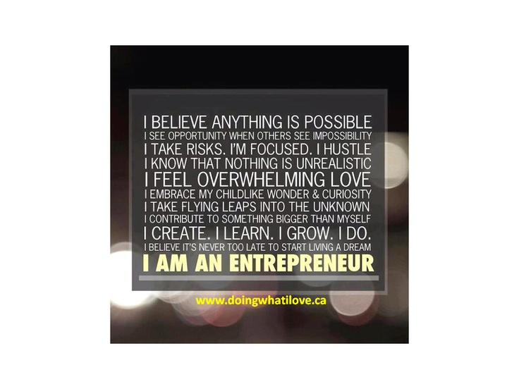 i am an entrepreneur quotes - photo #3