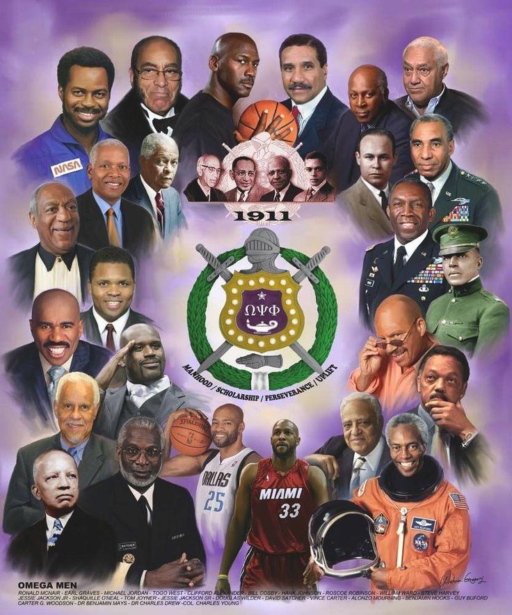 Notable Omega men poster