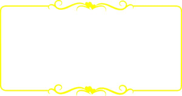 yellow frame clipart - photo #37