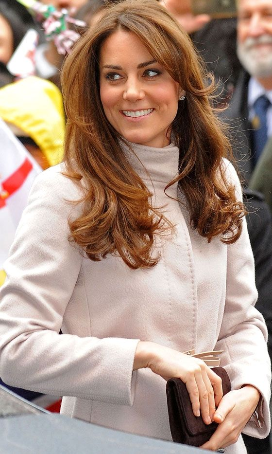 Kate Middleton, November 2012. Wish she had on a little more lip color here!