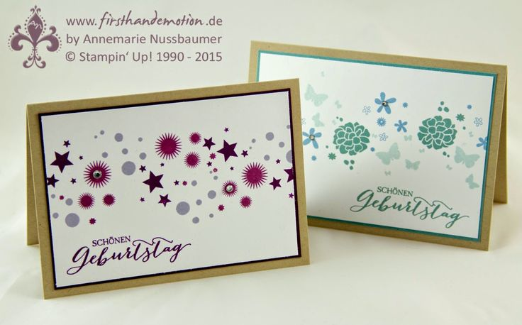 Stampin Up Calendar Ideas : Stampin up by first hand emotion perpetual birthday