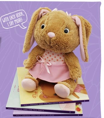 Abigail bunny- storybook toy I want to get Abigail: Abigail Book, Balance Beam, Abigail Story, Storybook Toy, Abigail Rose, Abigail Bunny, Acrobatic Bunny, Abigail Sized Purse, Beam Book
