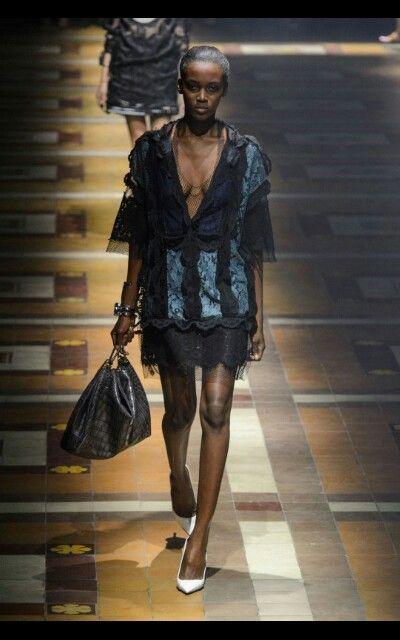 Lanvin catwalk ss15