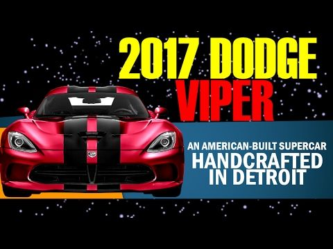 2017 Dodge Viper Supercharged Engine