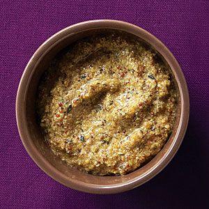 Rosemary Thyme Mustard   MyRecipes.com