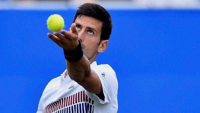 ¡Con buen pie! Djokovic clasificó a los cuartos de final del Eastbourne #Deportes #Tenis
