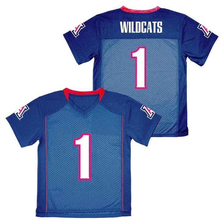 NCAA Boys' Replica Football Jersey Arizona Wildcats - M, Multicolored