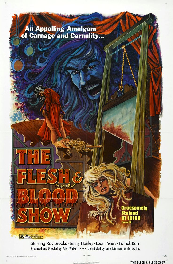 """""""The Flesh And Blood Show"""" (1972)  Director: Pete Walker"""