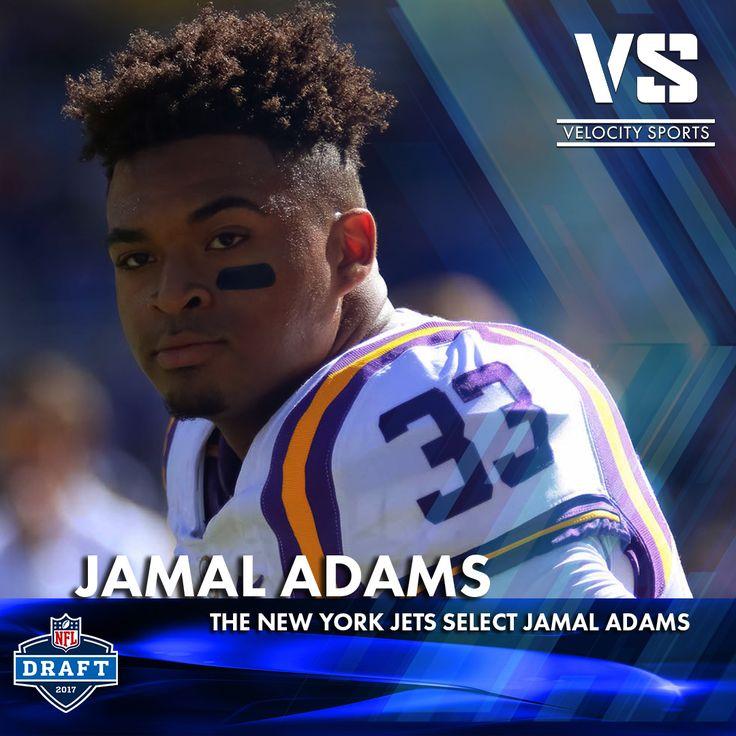 The New York Jets select Jamal Adams .. .. .. .. #DraftDay #NFL #NFLdraft #NFLdraft2017 #football #sports #Jets #velocitysports #NewYorkJets #NewYork #JamalAdams