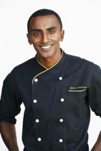 Marcus Samuelsson -- We saw him 7/28 at the Howard Theatre... great food and wonderful dialogue about life and cooking!