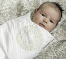 The practice of swaddling goes back nearly as far as human history, itself. The oldest archaeological evidence of mothers swaddling their babies begins in 4000 B.C. with the migrating peoples of ancient central Asia. The ancient Greeks and Romans swaddled. There are even biblical references to the practice.