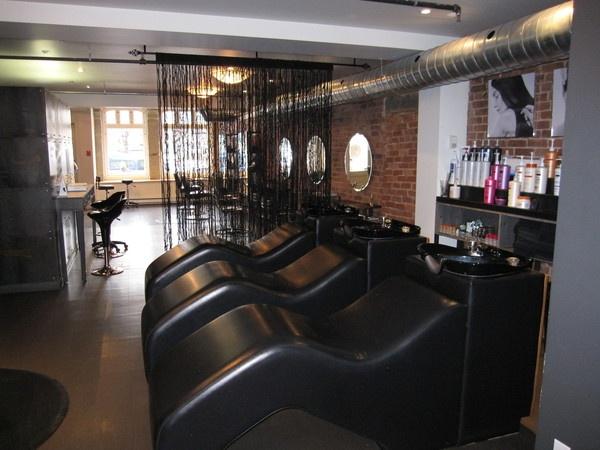 Glam Hair Salon By Nadine Lacasse, Via Behance Gallery