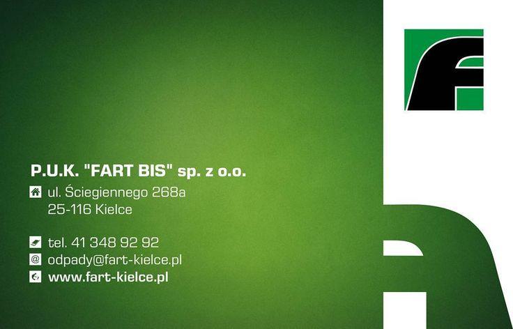 Wizytówka dla kieleckiej firmy Fart #projektgraficzny #graphicdesign #wizytowka #businesscard #fart #kielce #mgraphics #nadajemyksztaltypomyslom #buskozdroj www.mgraphics.eu