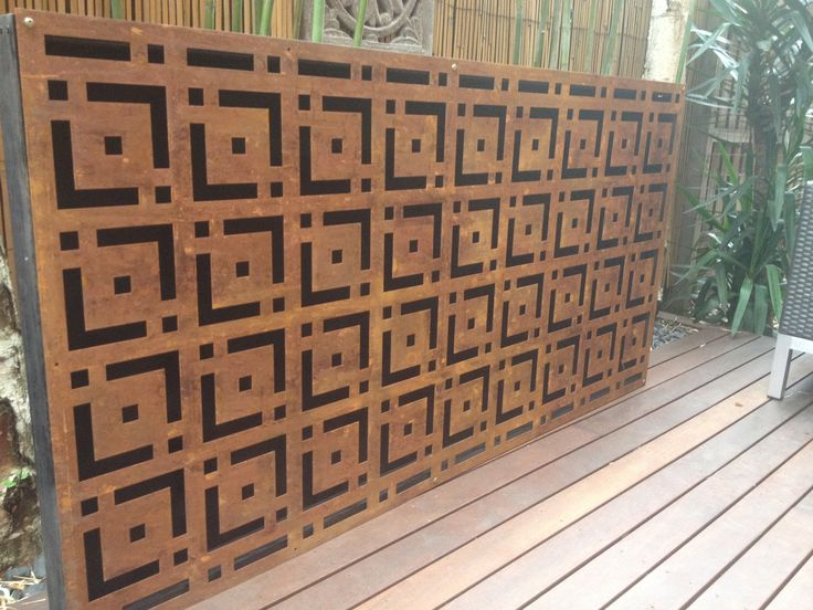 17 Best Images About Metal Wall Rust Art Screen Panel