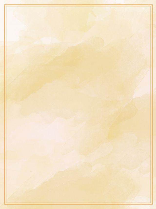 البرية الصفراء التدرج ألوان مائية ملصق المواد الاساسية Watercolor Background Watercolor Pattern Background Background Patterns