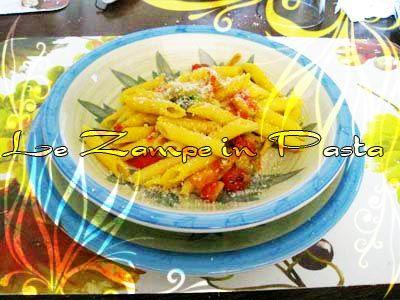 Le Zampe in pasta: Pennette d'estate