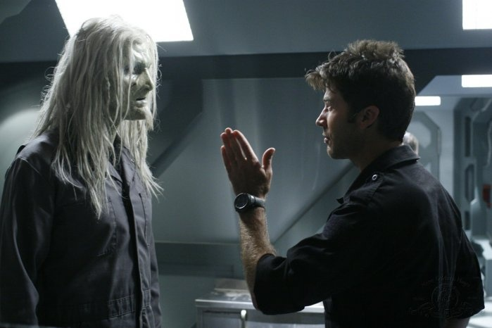 Enemy at the Gate  Doing what they always do- argue. Todd's kinda hot out of the leather. Todd the Wraith Stargate Atlantis