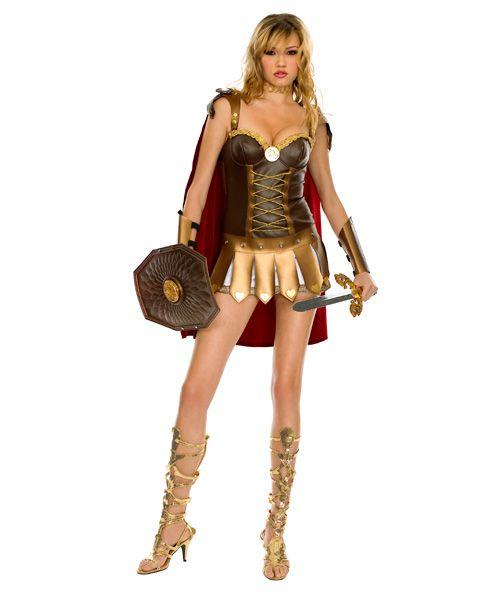 Adult Sexy Roman Warrior Costume,$49.96