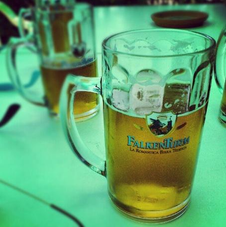 #Birra #Falkenturm grazie ad Andrea Caccia per la bella foto #instagram #pinta #beer #sangeminianoitalia