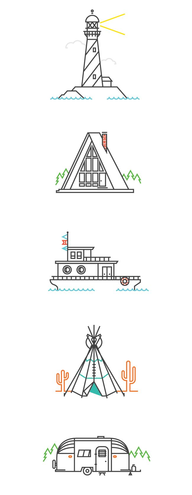 Really simple illustrations