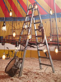 Circus props. An old ladder would be a good prop: