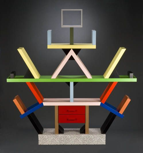 Ettore Sotts Carlton Bookcase 1981