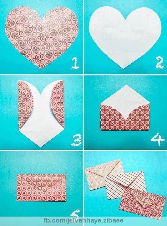 smart and cute diy envelopes