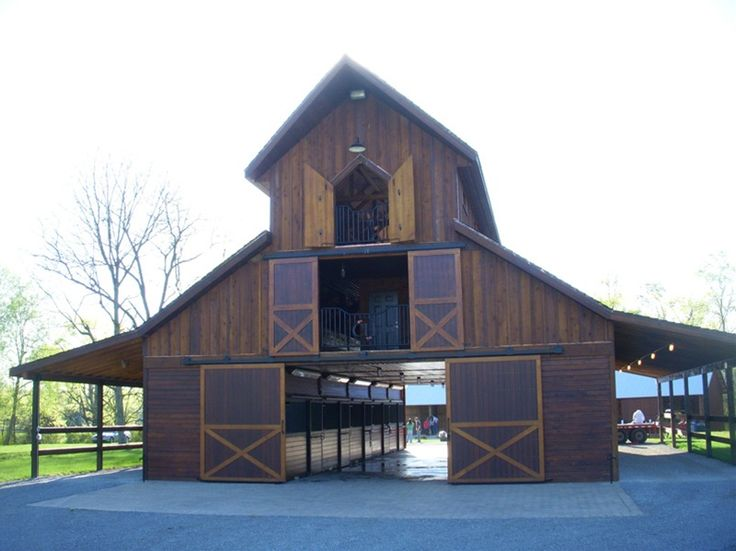 This site has awesome barn plans....one day I would love to have a barn like this for my horses! ~S~