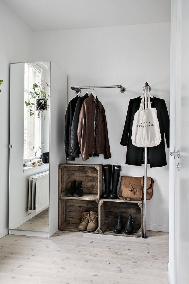 hallway storage idea                                                                                                                                                                                 More
