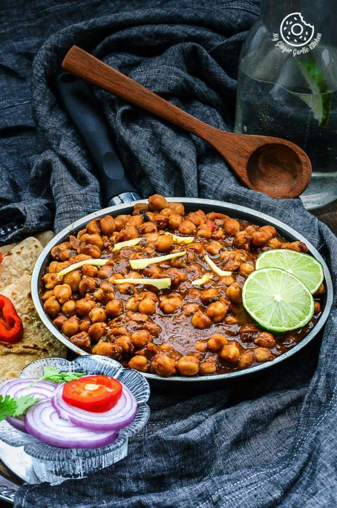 Amritsari Chole #vegan #curry #dinner #foodstyling