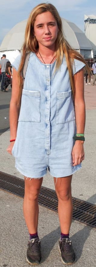 #woman #jeans #denim #overall