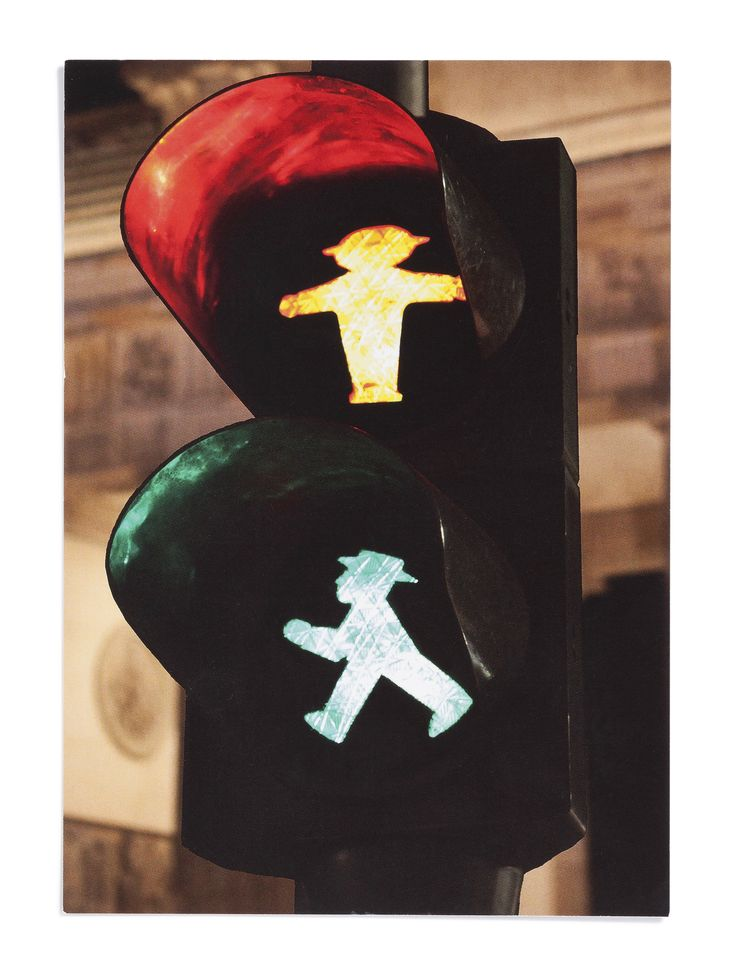 "You can find them everywhere in Berlin – the famous ""Ampelmännchen""! #bugattifashion #bugattitravel #AW15 #Germany #Berlin #travelphotography"