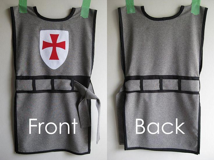 My Handmade Home: DIY Knight Costume. Templar shield