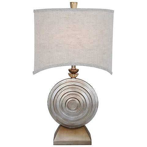 Van Teal Ofra Brilliant Silver Table Lamp - #6G321 | Lamps Plus