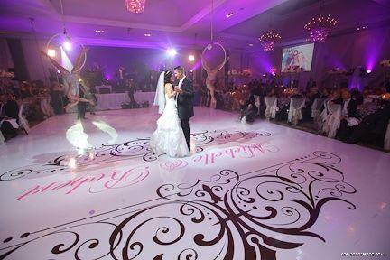 A unique idea for any wedding #wedding #whitewedding #dancefloordecor #dancefloor #weddingdecor #love #toronto #elegant #custom #weddingideas