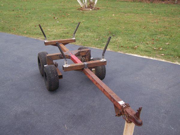 built an atv log/firewood trailer