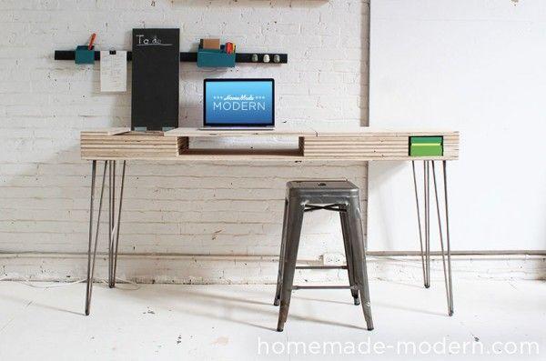 Diy bureau fabriquer un bureau denfant pour une chambre organise