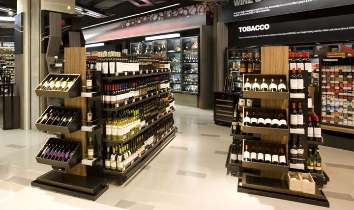 Retail Design | Wine Store | BWS | Liquor Store | Ole Supermarket by rkd retail/iQ, Shen Zhen » Retail Design Blog
