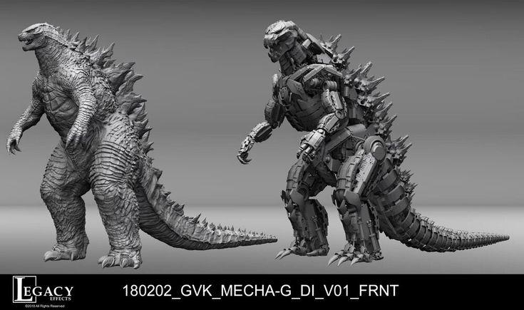 Alternative Godzilla Vs Kong Mechagodzilla Designs Revealed By Legacy Effects Godzilla In 2021 Godzilla Vs Godzilla Kong
