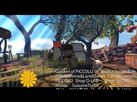 andika's Forest of whisper 《PICCOLI2 》SecondLife - YouTube